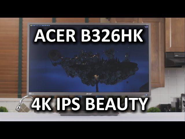 Acer B326HK 4K IPS Monitor