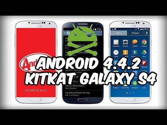 Galaxy S4 i9505 Root Android 4.4.2 KitKat en (1 Minuto) [FÁCIL & RÁPIDO]
