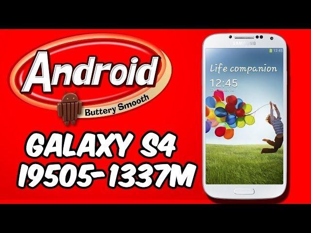Instalar Android 4.4 KitKat Google Edition en Galaxy S4 [i9505/i337M]
