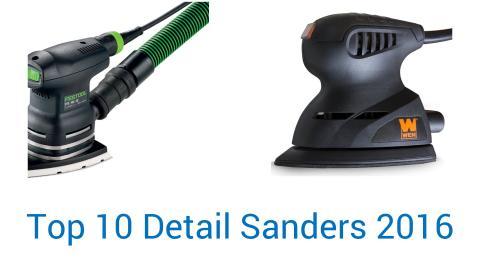 10 Best Detail Sanders 2016