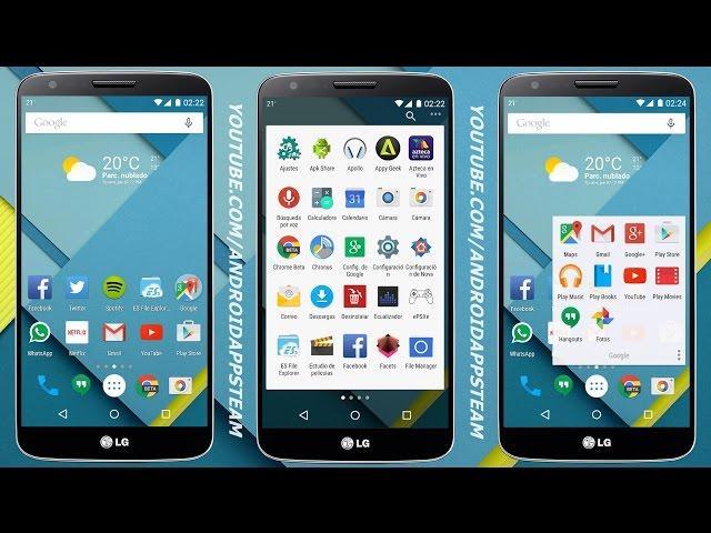 Instala La Nueva Versión De Nova Launcher Estilo Lollipop En Tu Android