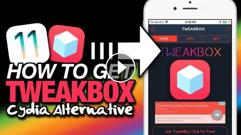 How To Get TWEAKBOX On iOS 11 (NO JAILBREAK) Cydia Apps, ++