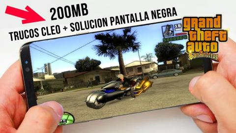 Descargar GTA San Andreas Lite (200MB + TRUCOS CLEO) Cualquier Android GAMA BAJA y MEDIA