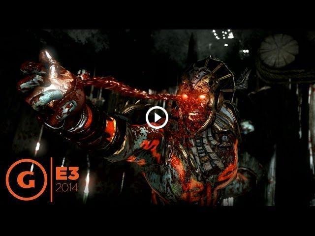 Mortal Kombat X Fatality Compilation E3 2014