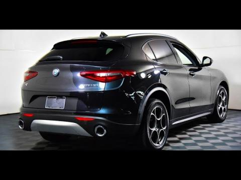 New 2019 Alfa Romeo Stelvio Super Sport Suv Interior And Exterior