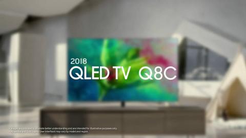 Samsung QLED TV : 2018 Q7F 4K UHD HDR TV