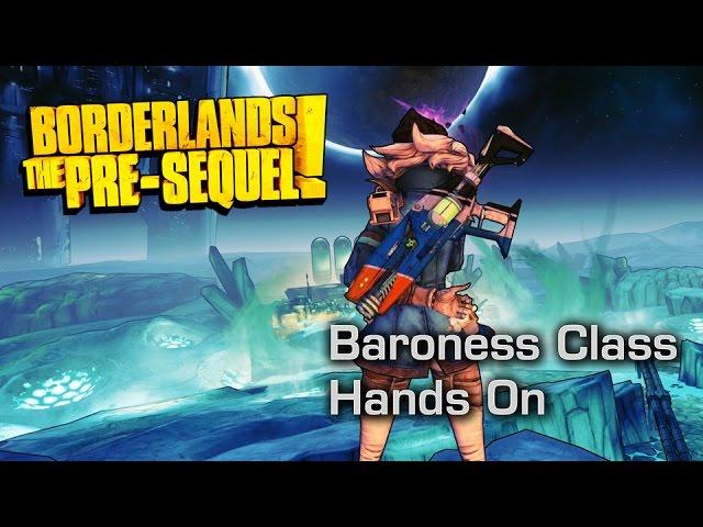 The Baroness Makes it Snow Blood - Borderlands: The Pre