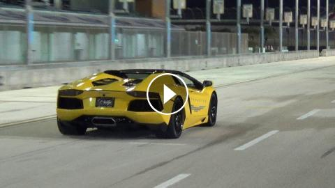 BEST of Supercar SOUNDS Loud Accelerations RACING Revs Lamborghini