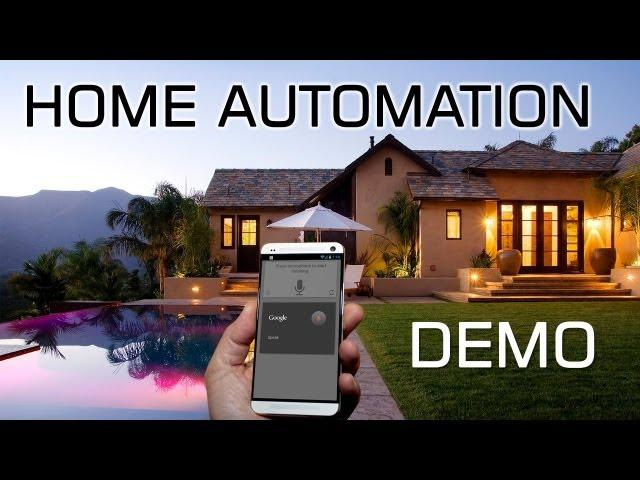 Android Home Automation Demo | Voice + NFC