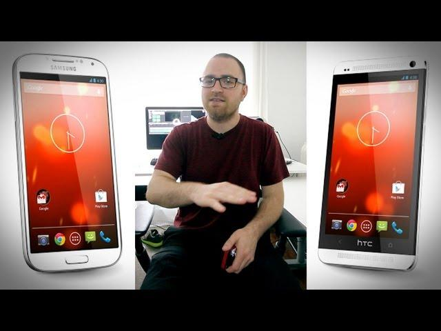 Giveaway: Google Edition HTC One or Galaxy S4!
