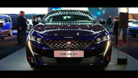 2020 Peugeot 508 Sport Hybrid Introducing