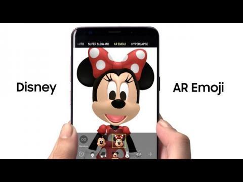 Samsung Galaxy S9: Disney AR Emoji