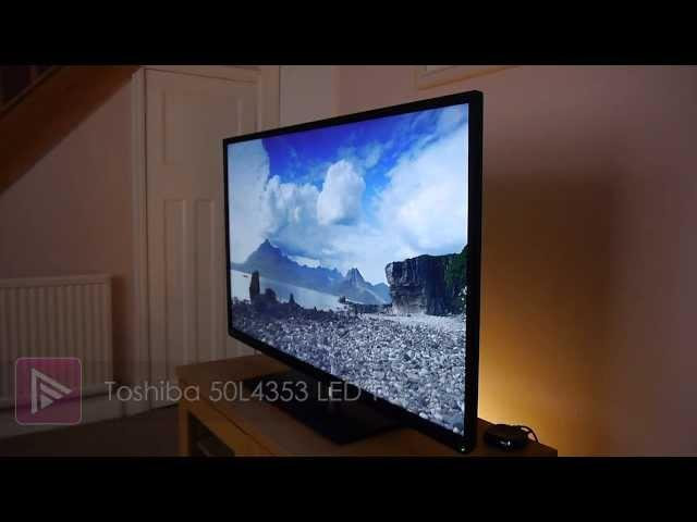 Toshiba 50L4353 3D LED LCD Smart TV Review
