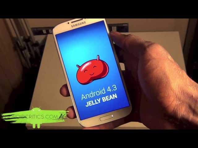 Samsung Galaxy S4 i9500 Official 4.3 Jelly Bean Android Hands On-- Should You Upgrade?