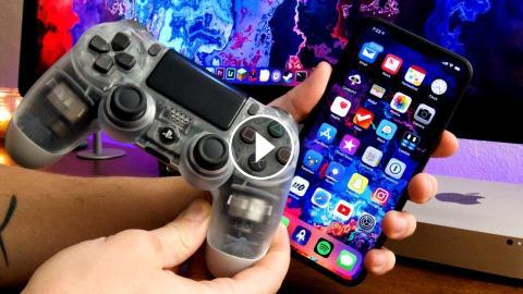 How To USE A PS4 CONTROLLER On iPhone & iPad iOS 12 - PLAY