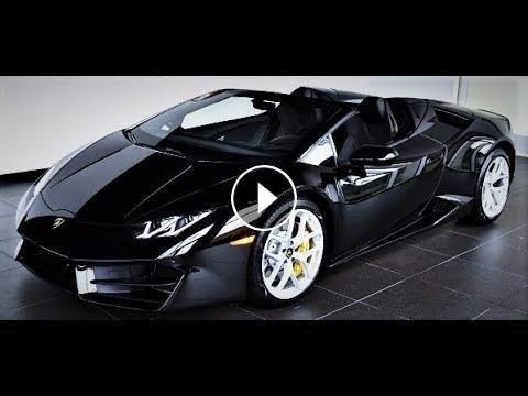 New 2018 Lamborghini Huracan Spyder Lp V10 5 2l 640 Hp Exterior
