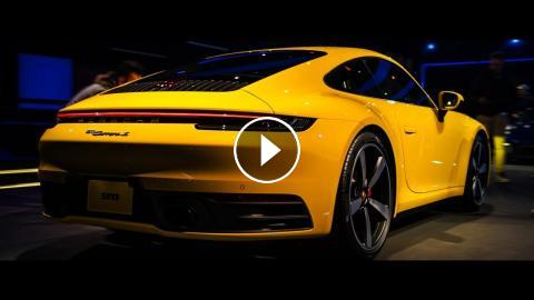 New 2020 Porsche 911 Carrera 4s 992 Exterior And Interior 4k 2160p