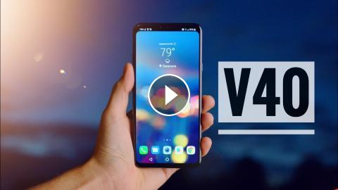 The LG V40 ThinQ is Awesome - Top 5 Features!