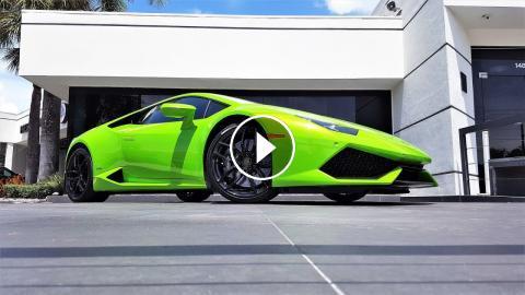 2016 Lamborghini Huracan Lp610 4 Verde Mantis Interior Exterior