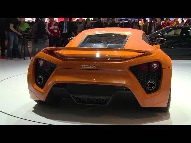 Zenvo ST1 with 1104 HP shines at Geneva Motor Show