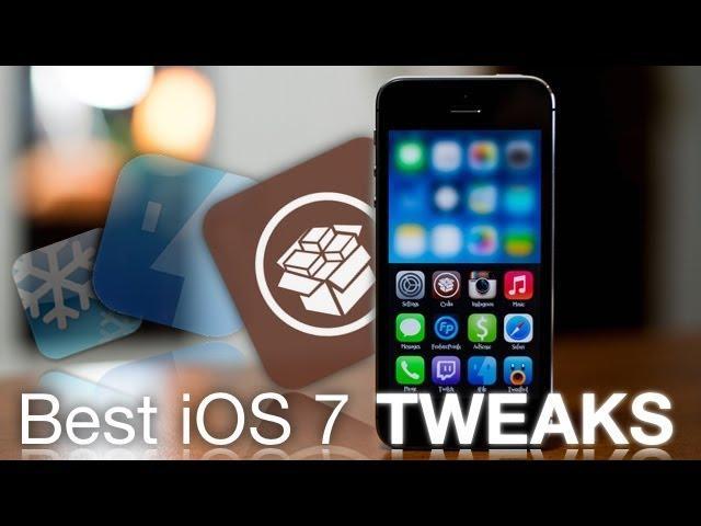 Top 10 Best iOS 7 Jailbreak Tweaks & Apps 2014 For iPhone