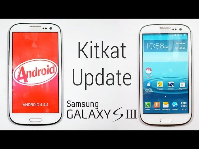 Galaxy S3 (I9300)- Kitkat 4.4.2 Update - How to Flash/Install