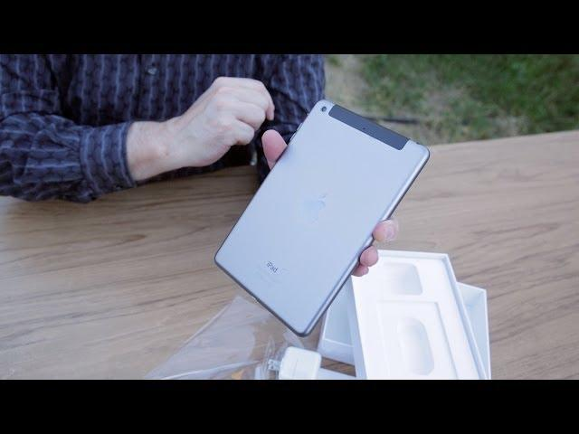 Apple iPad mini with Retina Display Unboxing, Camera Demo & LTE Speedtest!