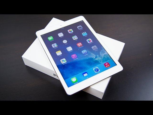 Apple iPad Air Unboxing & First Look!