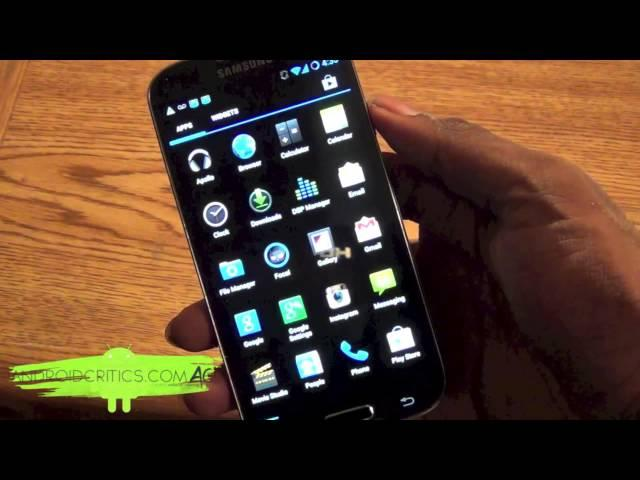 CyanogenMod 10.2 on Samsung Galaxy S4 IV i9500 4.3. Jelly Bean A Must Have ROM