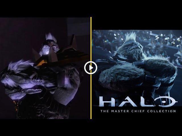 Cinematics Comparison: Halo 2 vs  Anniversary Edition - Can