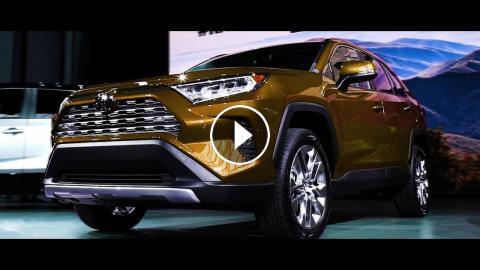 New 2019 Toyota Rav4 Hybrid Super Sport Suv Exterior And