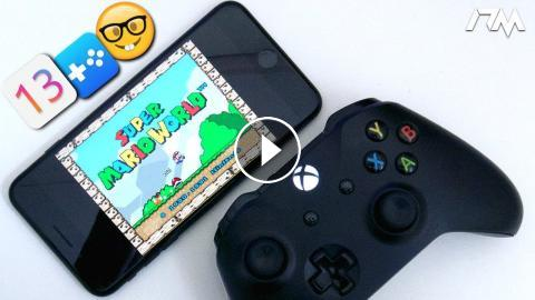 How To PLAY SUPER NINTENDO On iOS 13 With A XBOX ONE Or PS4