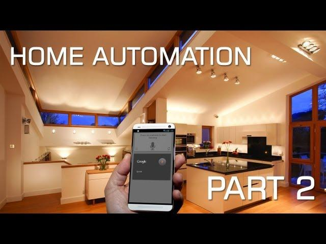 Android Home Automation - Micasaverde - Voice Control | Part 2