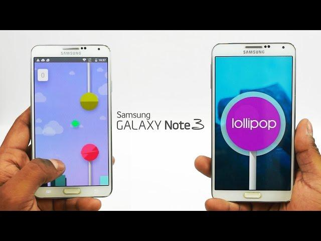 Galaxy Note 3 - Android 5.0 Lollipop (CyanogenMOD 12 - Unofficial) - N9005 Install Instructions