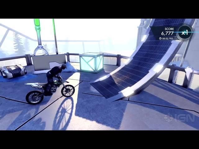 Trials Fusion: Polar Accelerator Gameplay Clip
