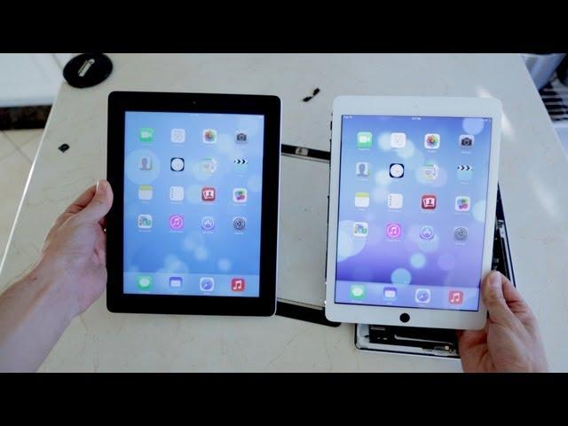 New Apple iPad 5 Sneak Peek! (vs iPad 4 Teardown)
