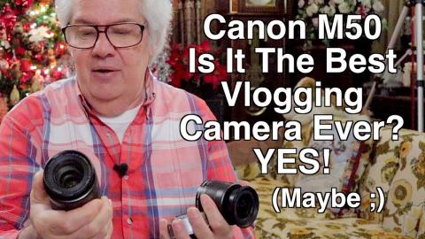 Is this the BEST NEW vlogging camera of 2018?! Unboxing the Canon M50