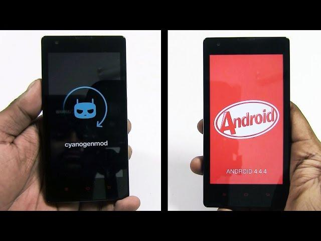 CyanogenMod 11 for the Redmi 1S - How to Flash / Install