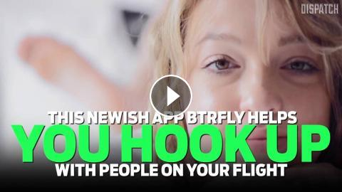 In flight hookup app