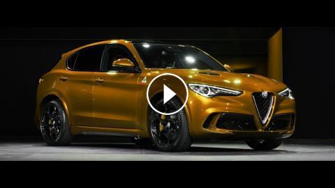 New 2019 Alfa Romeo Stelvio Super Sport Suv Interior And