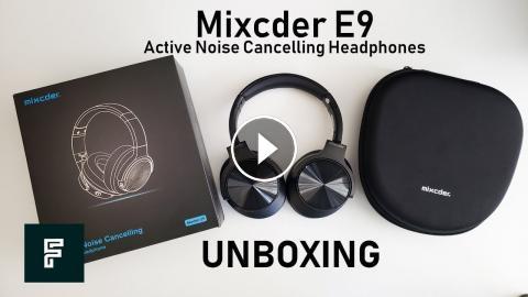 Best Noise Cancelling Headphones Under $100 Mixcder E9 | UNBOXING