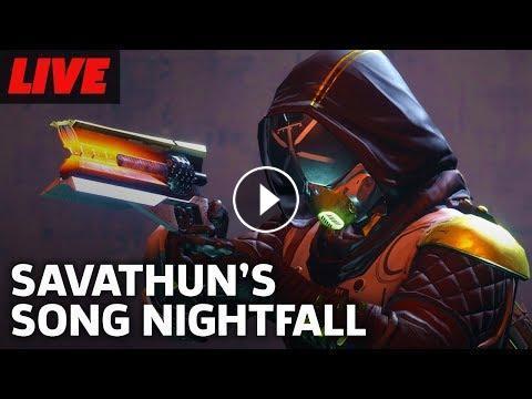Destiny 2 Savathun's Song Nightfall and Flashpoint EDZ