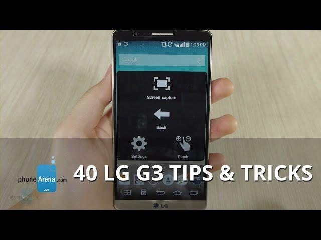 40 LG G3 Tips & Tricks