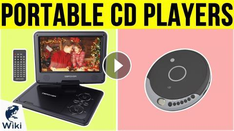 7 Best Portable CD Players 2019