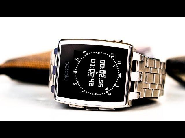Unboxing the Pebble Steel Smartwatch