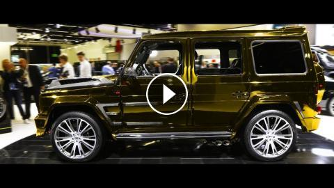 New 2019 Brabus 900 Based On Mercedes Amg G65 Exterior And