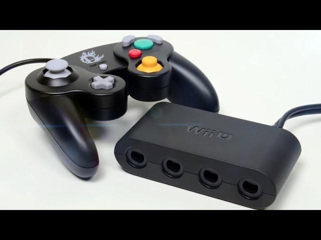 Smash Wii U GameCube Controller and Adapter Unboxing