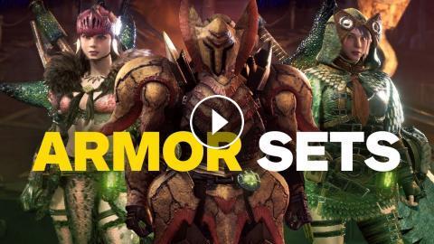 Monster Hunter World Every Armor Set So Far