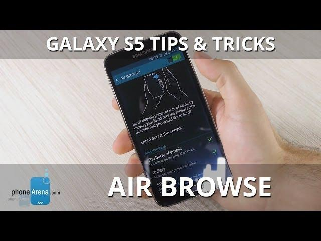 Galaxy S5 Tips & Tricks: Air browse