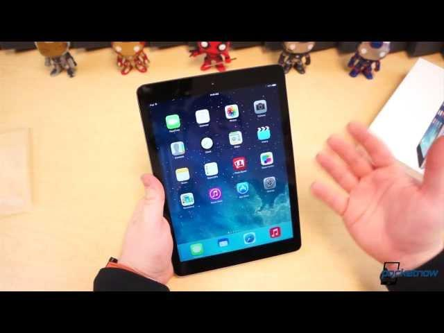 Apple iPad Air unboxing